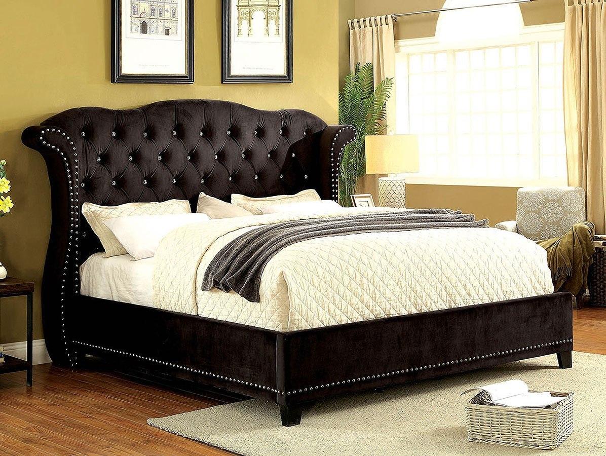 Johara Upholstered Bedroom Set w/ Alzir Bed by Furniture ...