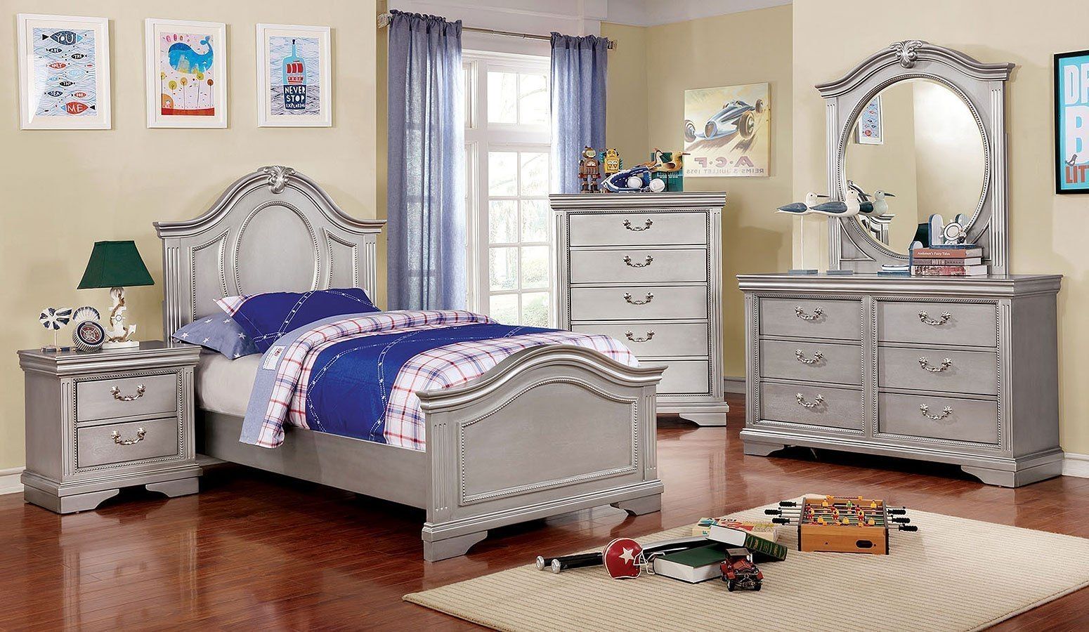 claudia youth panel bedroom set by furniture of america furniturepick