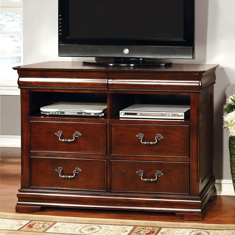 Tv Bedroom Furniture: Mandura TV Chest By Furniture Of America