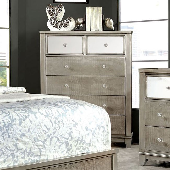Bryant Chest Silver Chests Bedroom Furniture Bedroom
