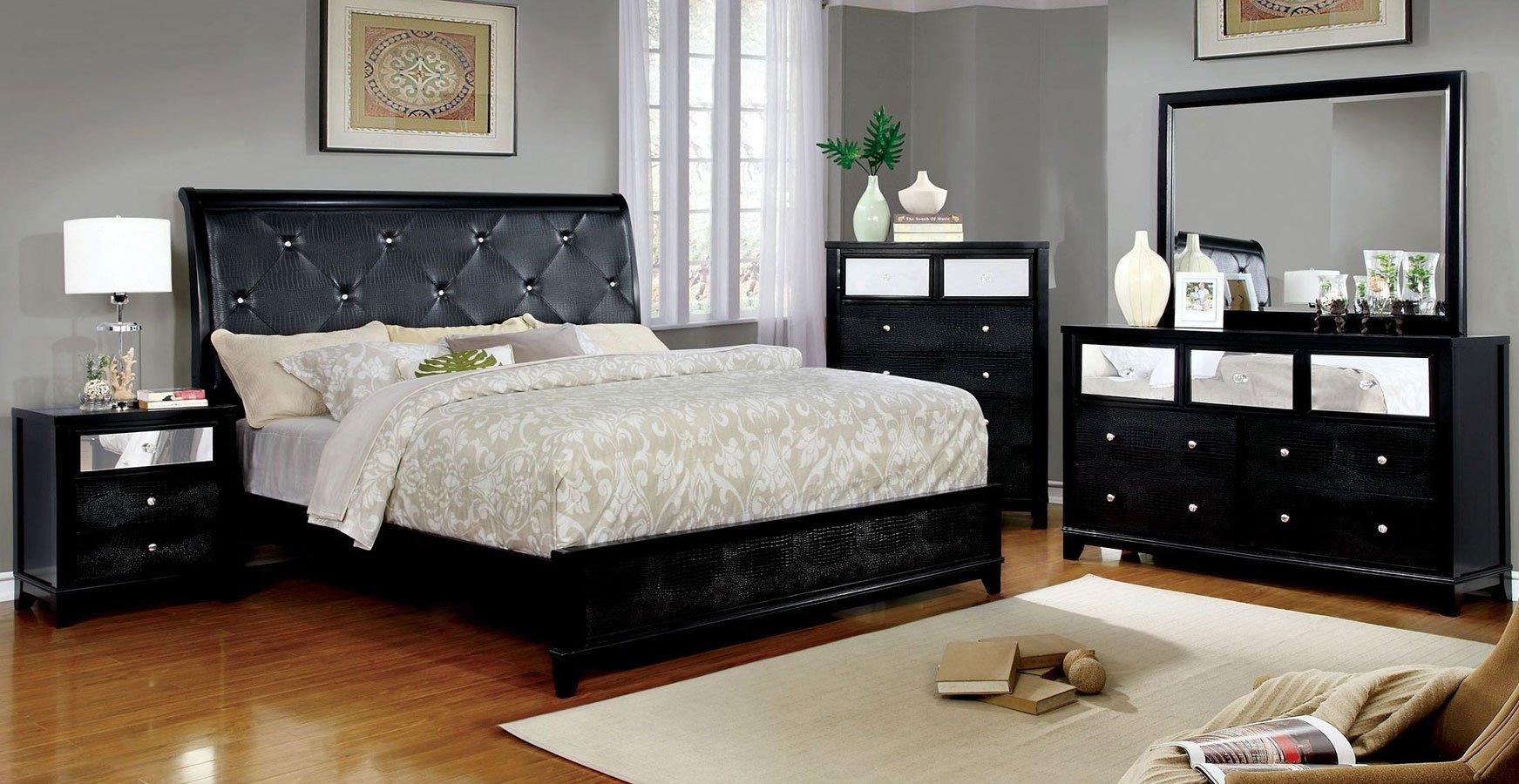 Bryant Ii Sleigh Bedroom Set Black Bedroom Sets Bedroom Furniture Bedroom