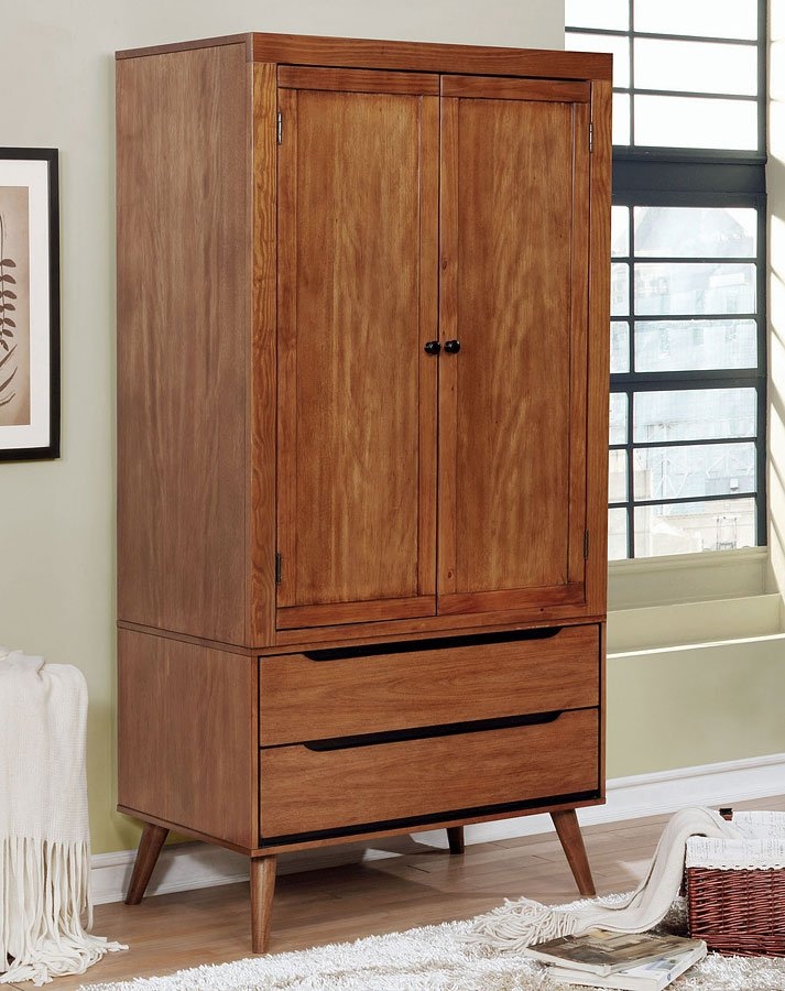 Lennart Armoire (Oak) - Armoires and Wardrobes - Bedroom ...