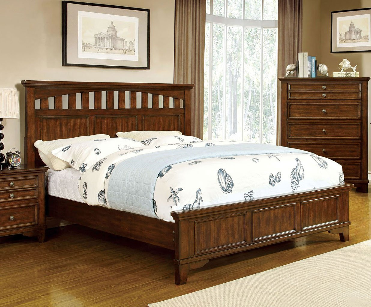 Chelsea Panel Bed By Furniture Of America Furniturepick