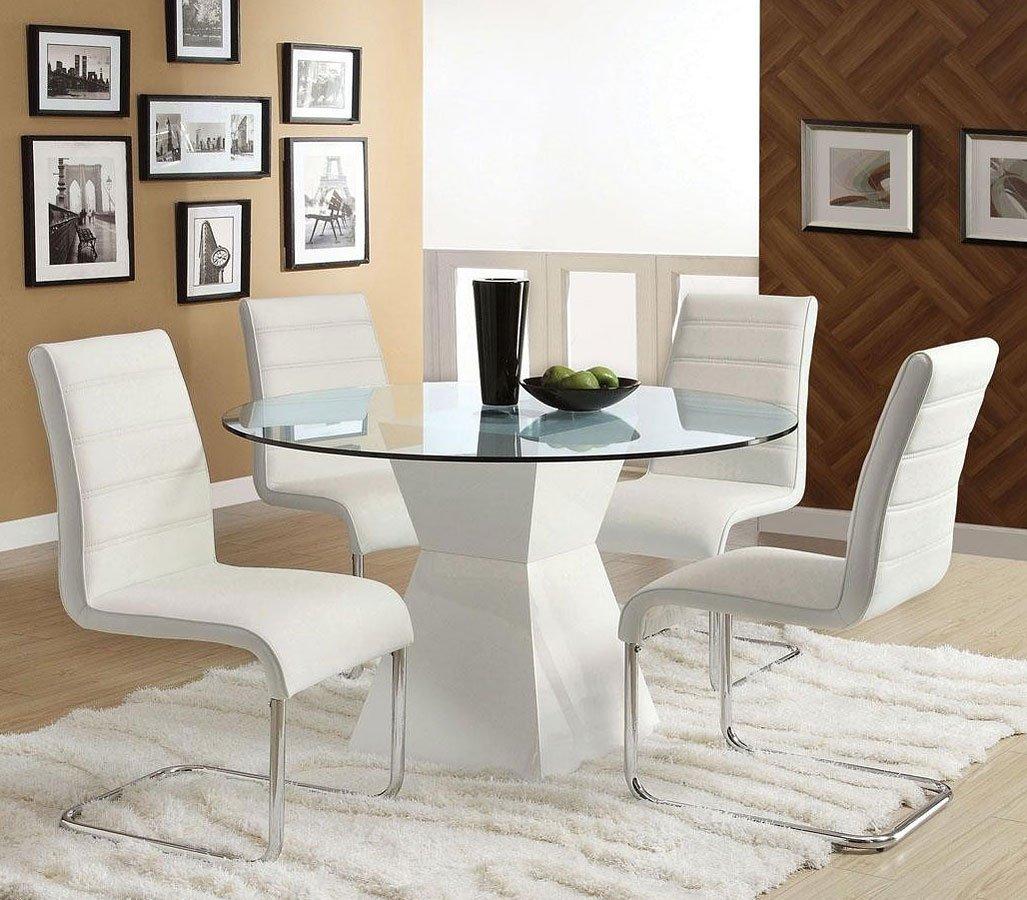 Mauna White Dining Room Set