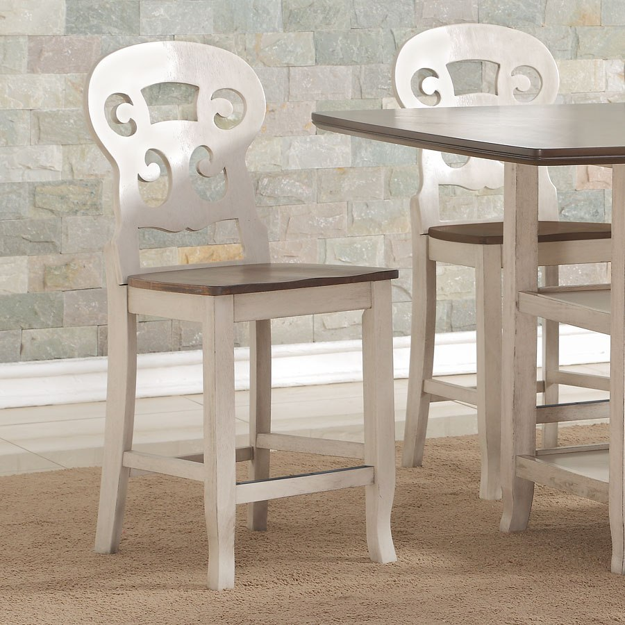 Cameo counter height chair set of 2 by avalon furniture furniturepick