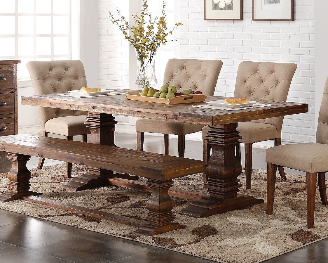 Normandy Rectangular Dining Table By New Classic Furniture