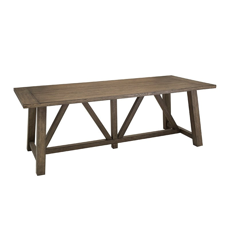 Modern Authentic Light Oak Dining Table By Accentrics Home
