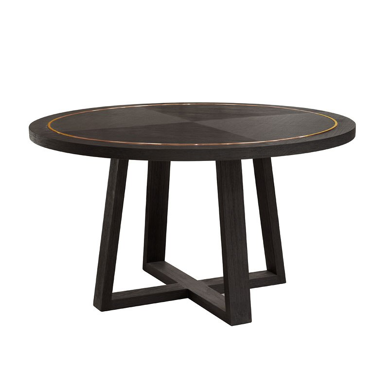 tru modern round dining table by accentrics home