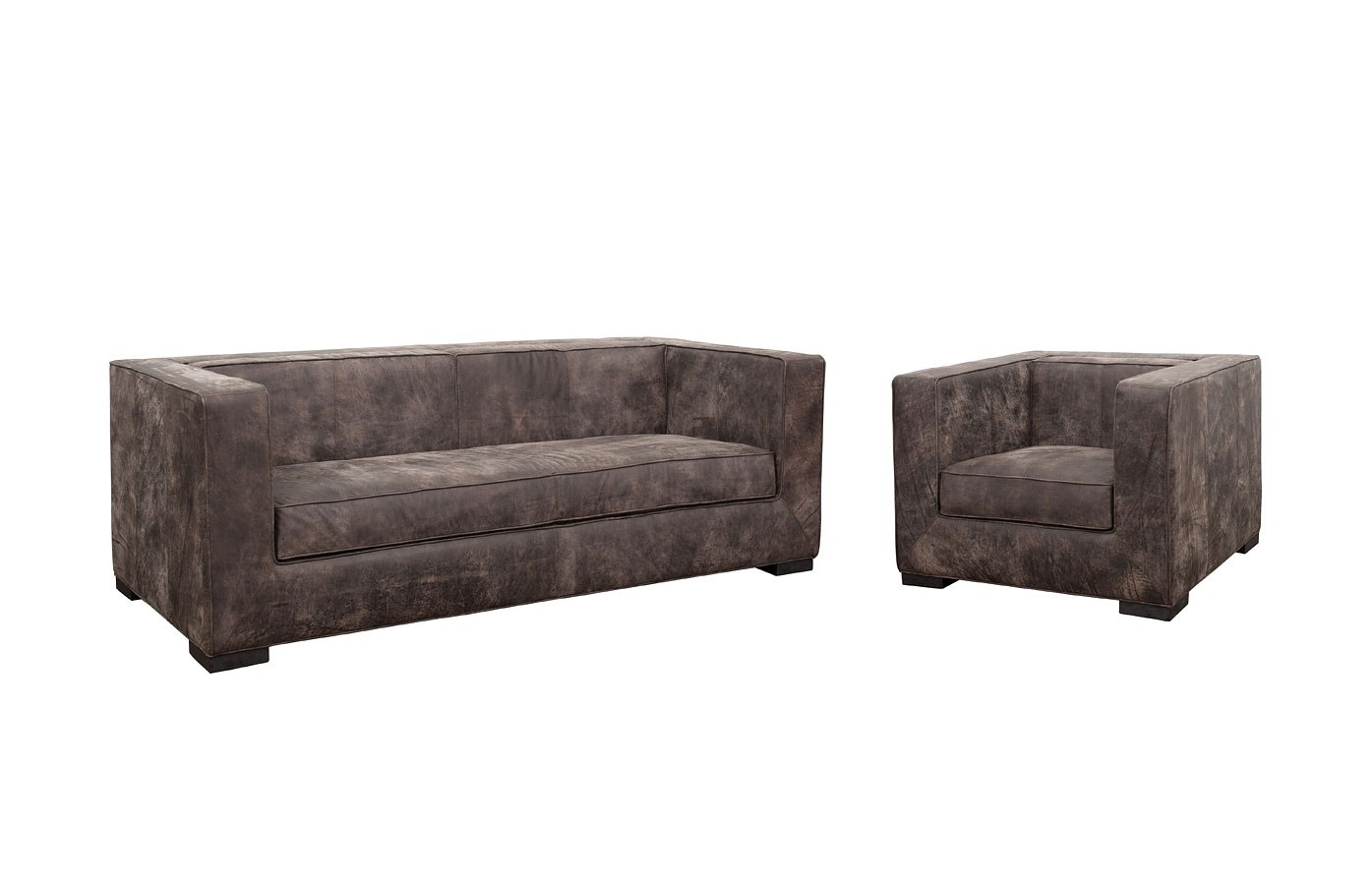 tru modern leather shelter living room set by accentrics
