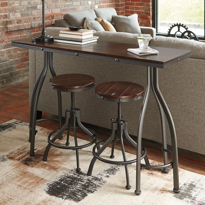 Odium 3 Piece Counter Height Dining Room Set By Signature Design Ashley Furniturepick
