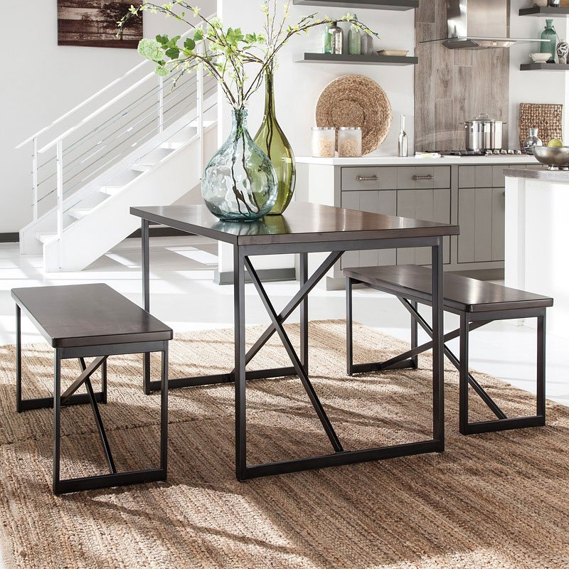 3 Piece Dining Room Set: Joring 3-Piece Dining Room Set By Signature Design By