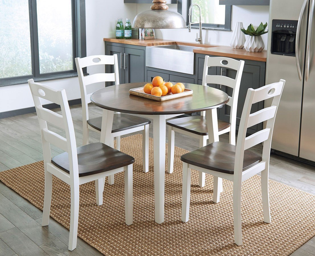 Woodanville Round Dining Room Set By Signature Design By Ashley