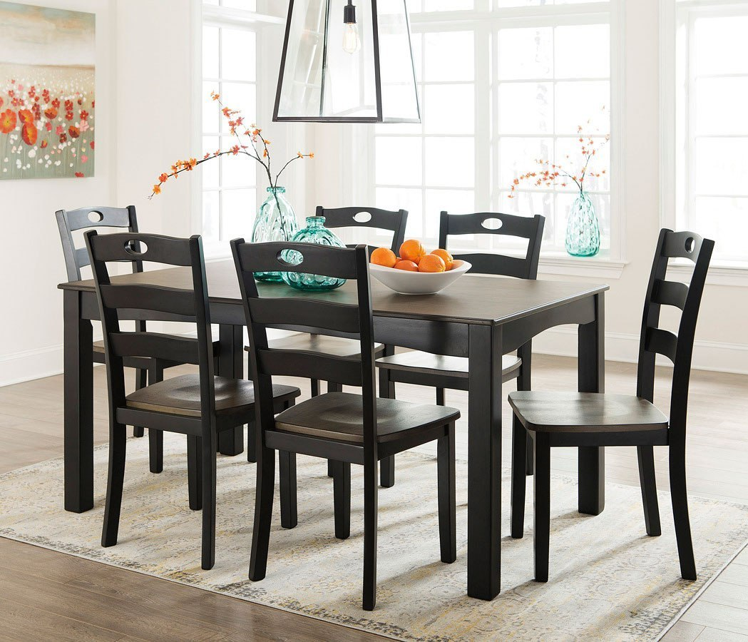 Froshburg 7-Piece Dining Room Set By Signature Design By