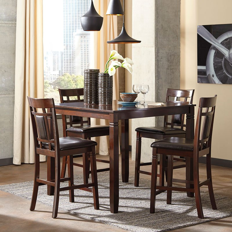 Bennox 5 Piece Counter Height Dining Set By Signature Design Ashley Furniturepick