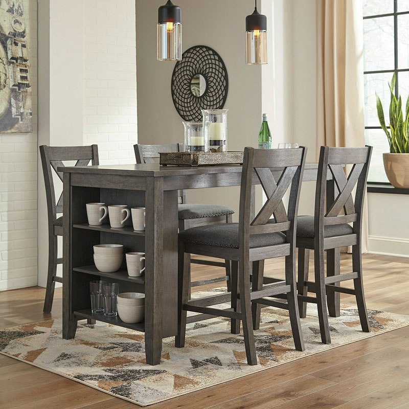Counter Dining Room Sets: Caitbrook Counter Height Dining Room Set By Signature