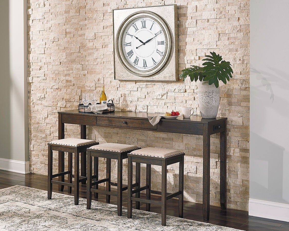 Rokane 4 Piece Counter Table Set By Signature Design By Ashley