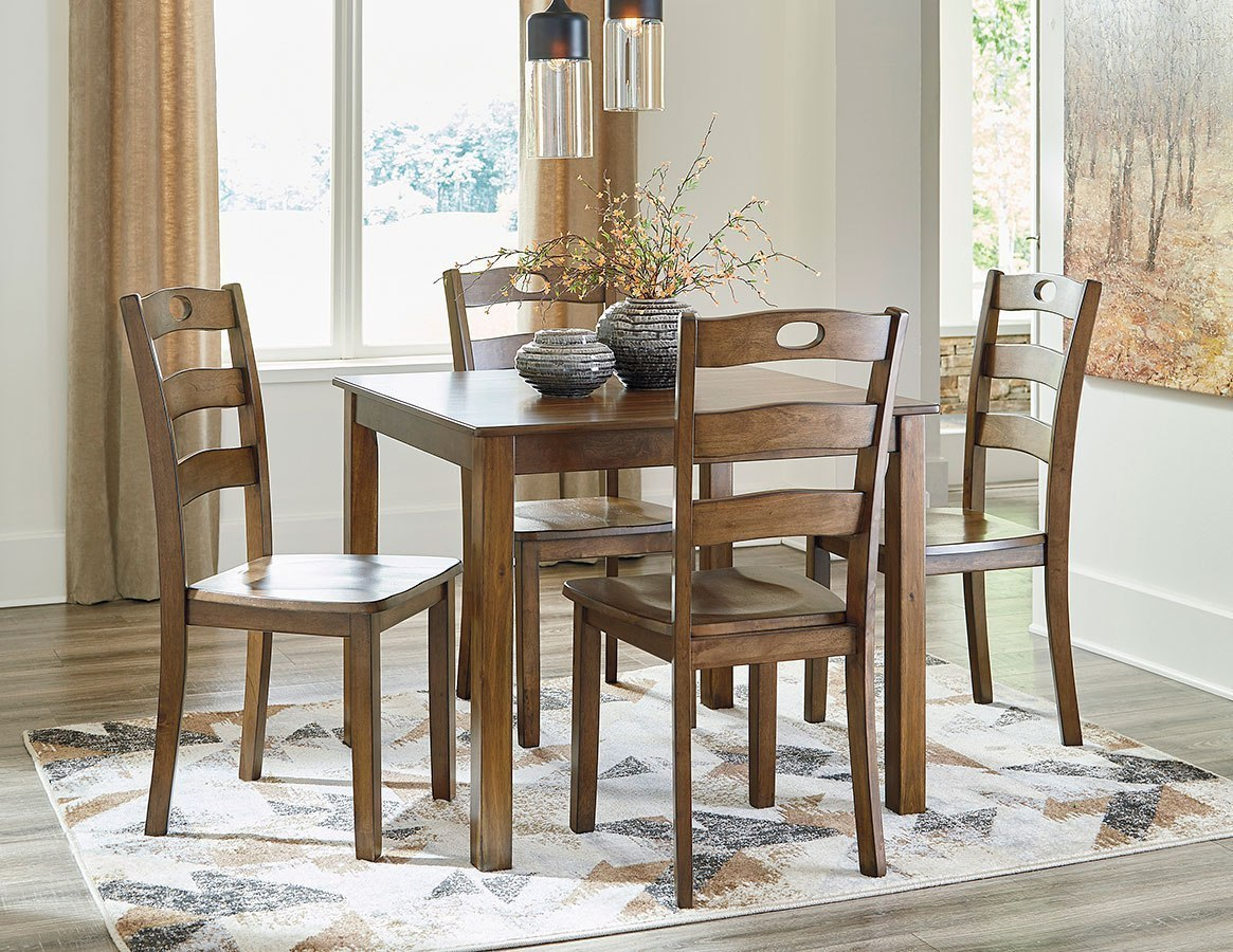Hazelteen 5-Piece Dining Room Set By Signature Design By Ashley