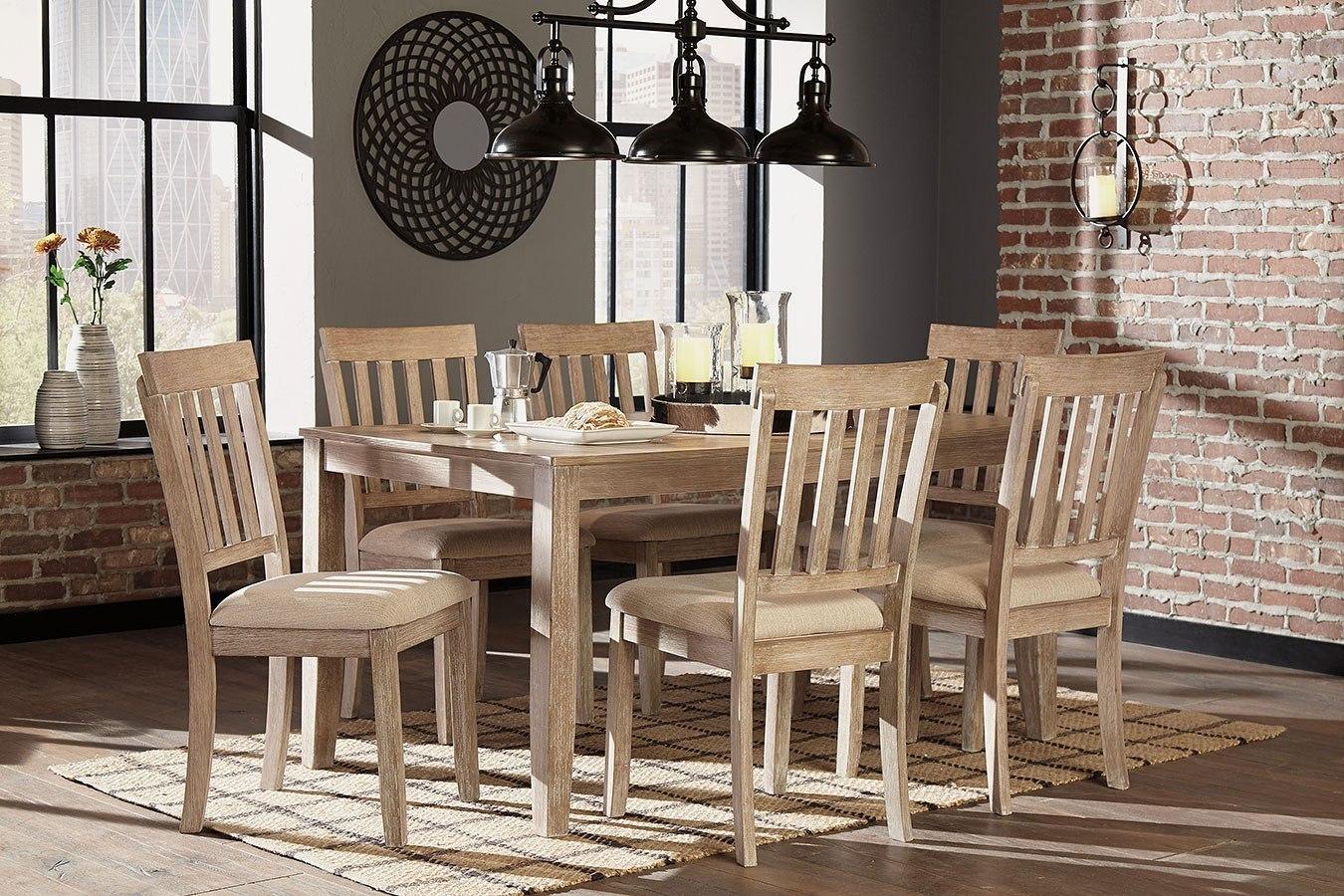 Mattilone 7-Piece Dining Room Set by Benchcraft ...