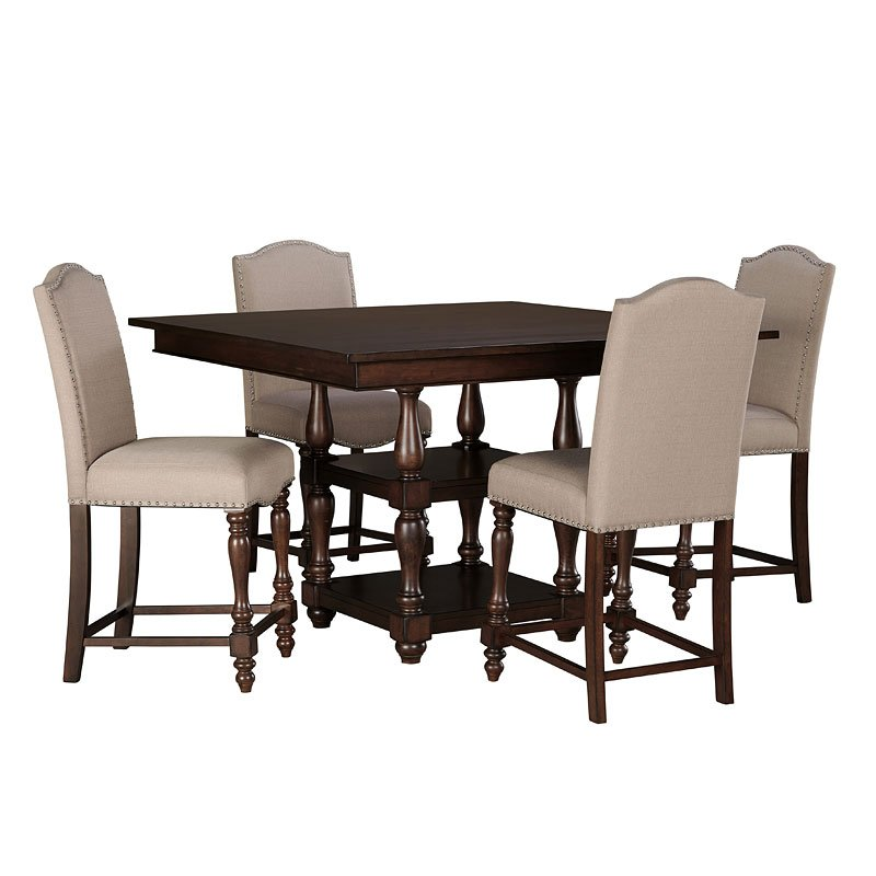 Baxenburg Counter Height Dining Room Set By Signature