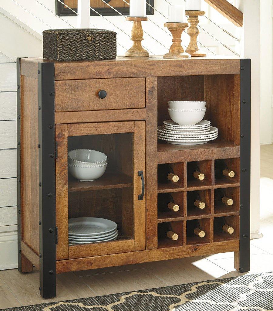 Glosco Wine Cabinet By Signature Design By Ashley