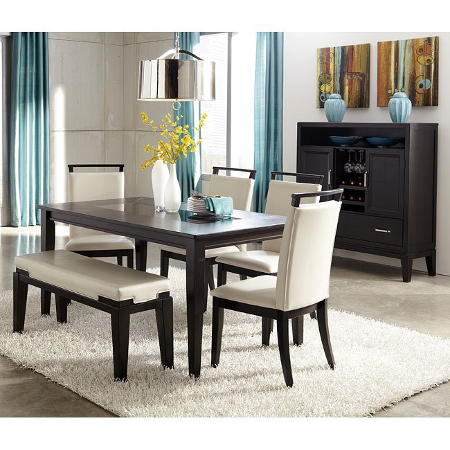 Trishelle Dining Room Set W Bench By Signature Design Ashley 1 Reviews Furniturepick