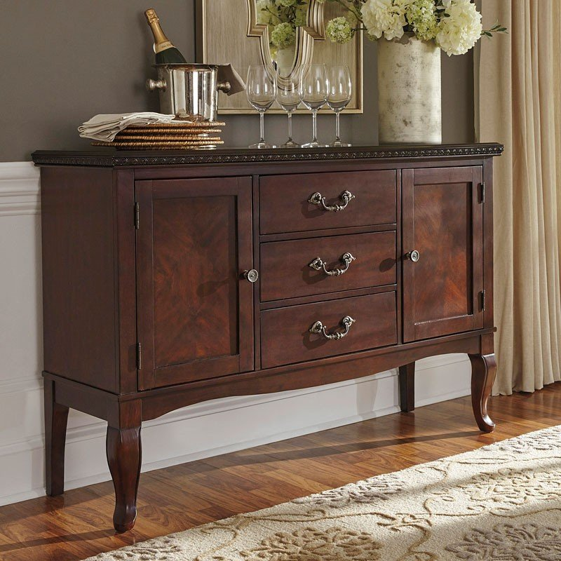 Gladdenville Server Buffets Sideboards And Servers