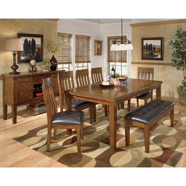 Ralene Dining Room Set w/ Bench
