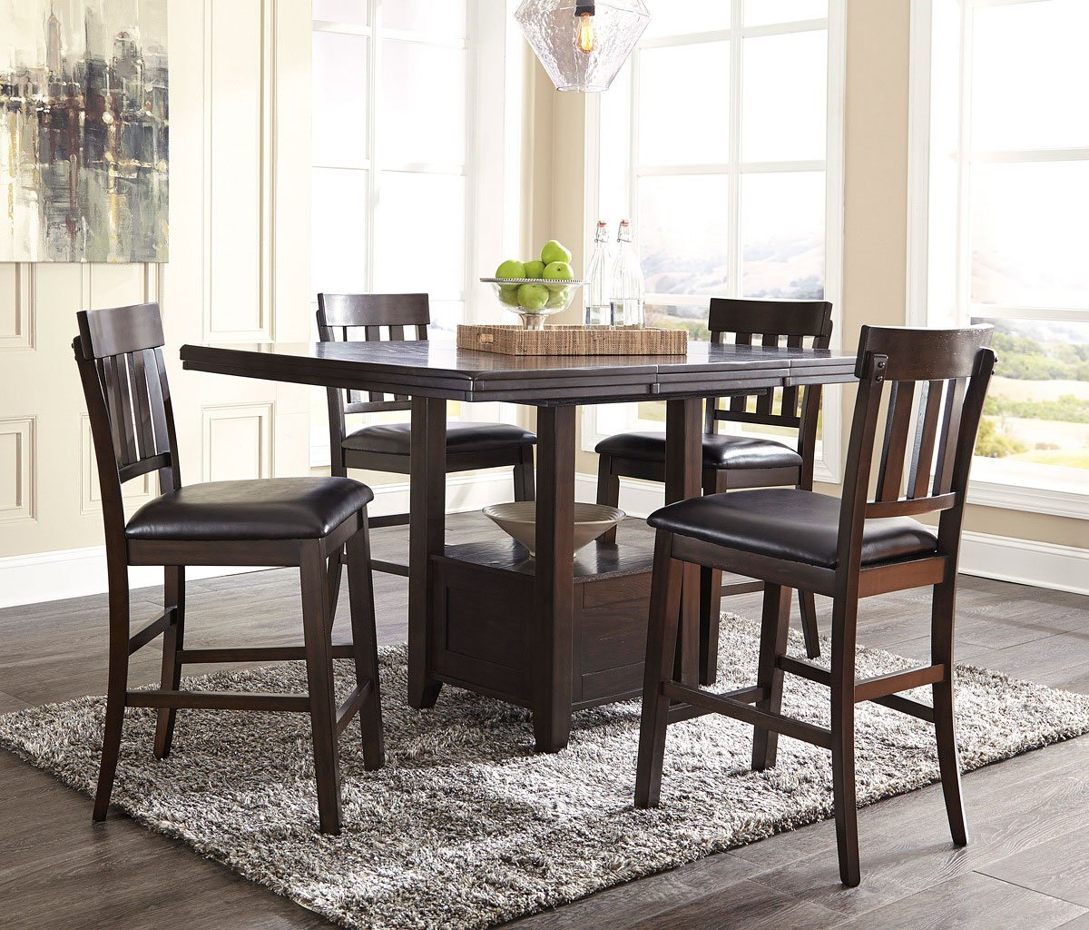 Haddigan Counter Height Dining Room Set By Signature