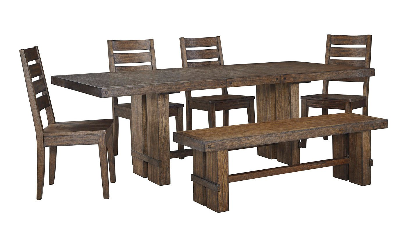 Leystone Dining Room Set W Bench By Signature Design By Ashley