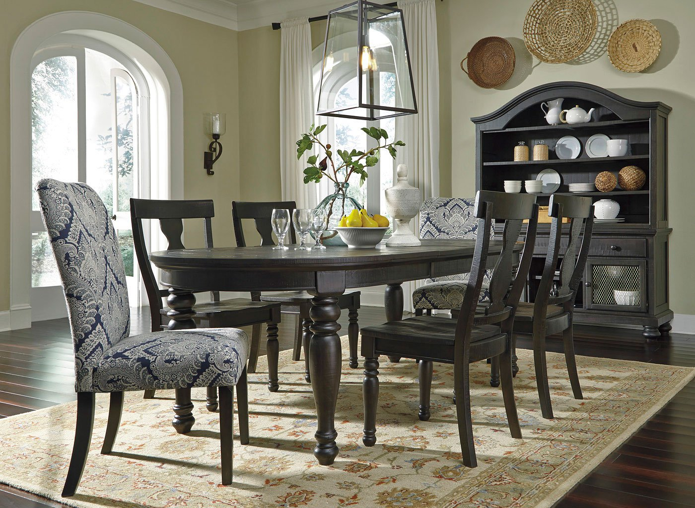 Sharlowe Dining Room Set W/ Upholstered Chairs