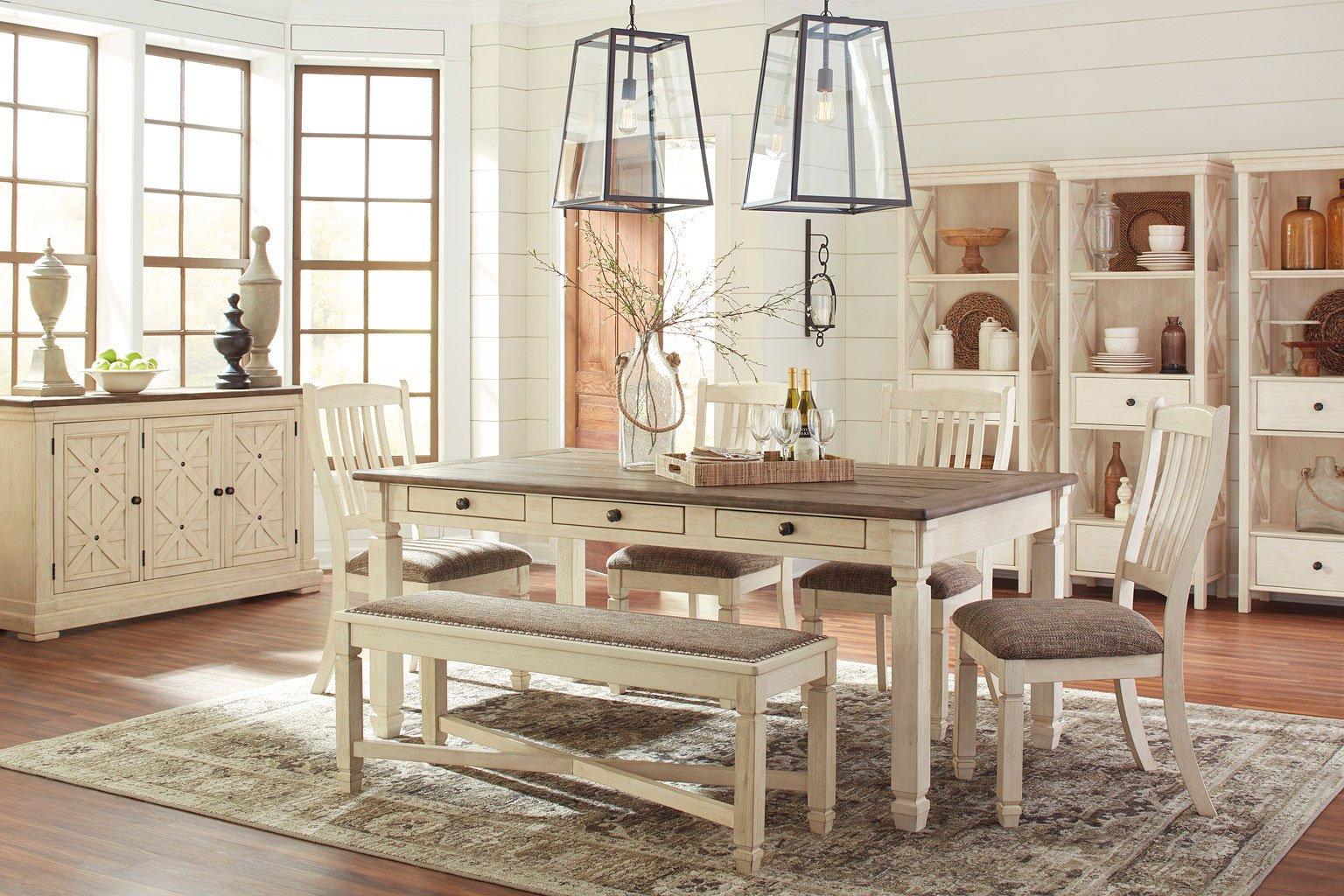 Bolanburg Dining Room Set w/ Bench