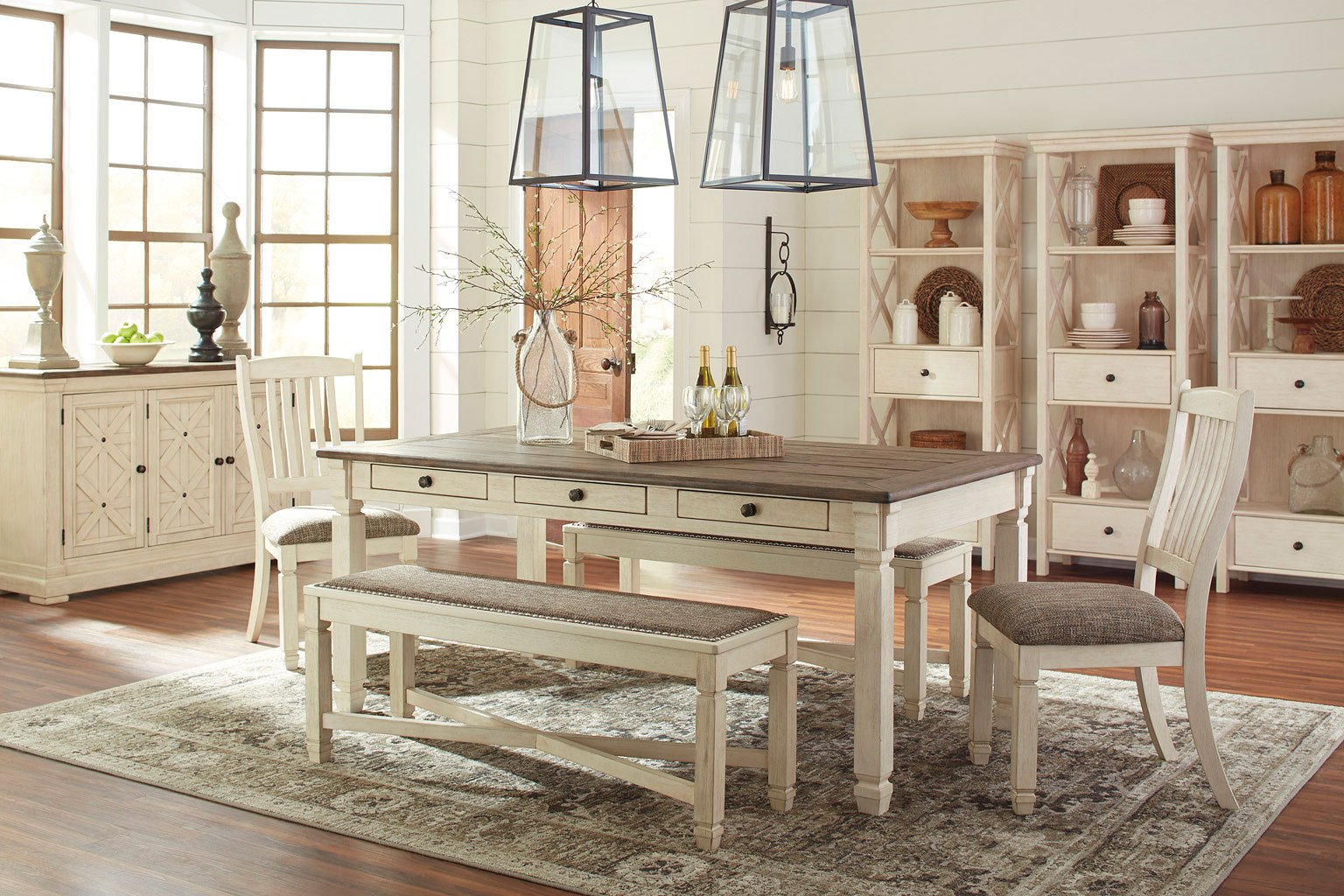 Bolanburg Dining Room Set W Bench By Signature Design Ashley 3 Reviews