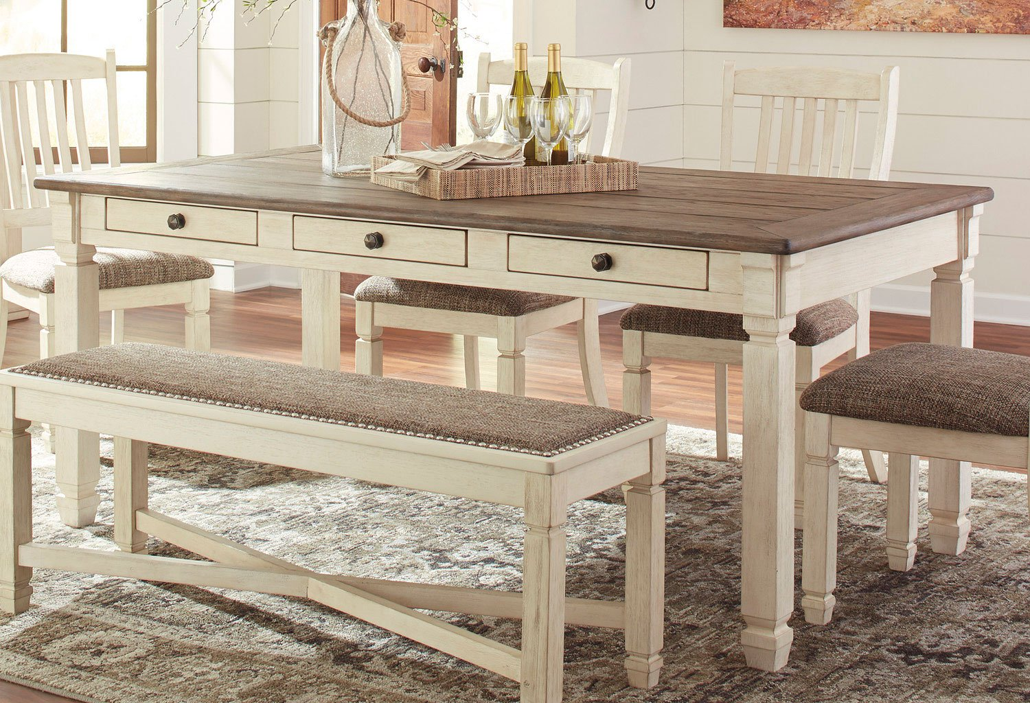 Bolanburg Dining Table By Signature Design By Ashley, 2