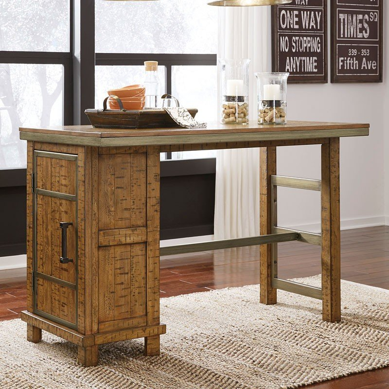 dondie counter height storage table by signature design by ashley furniturepick. Black Bedroom Furniture Sets. Home Design Ideas