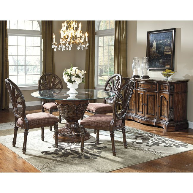 A America Bedroom And Dining Room Furniture On Sale: Ledelle Round Dining Room Set Signature Design By Ashley