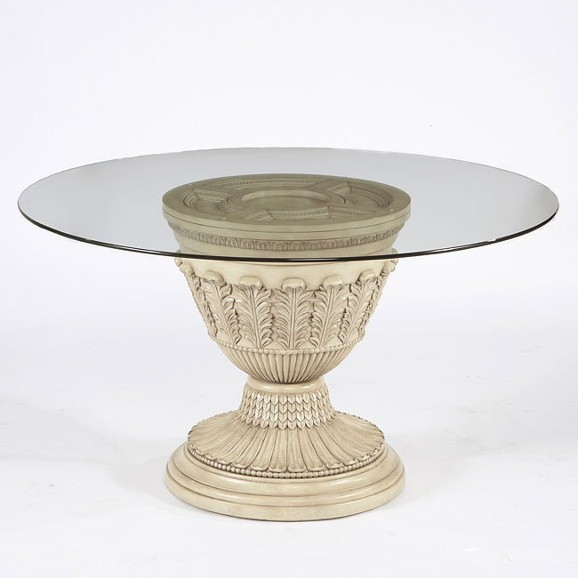 Ortanique Round Pedestal Dining Table