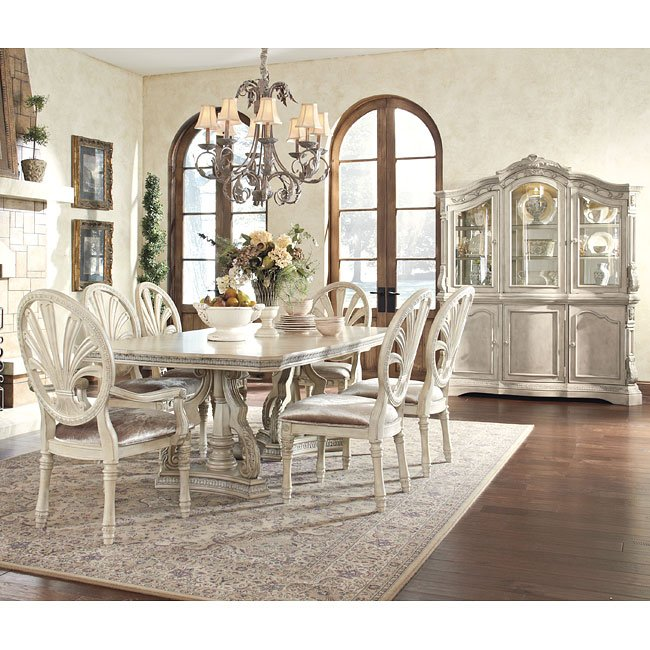 Ashley Furniture Millennium: Ortanique Dining Room Set Millennium