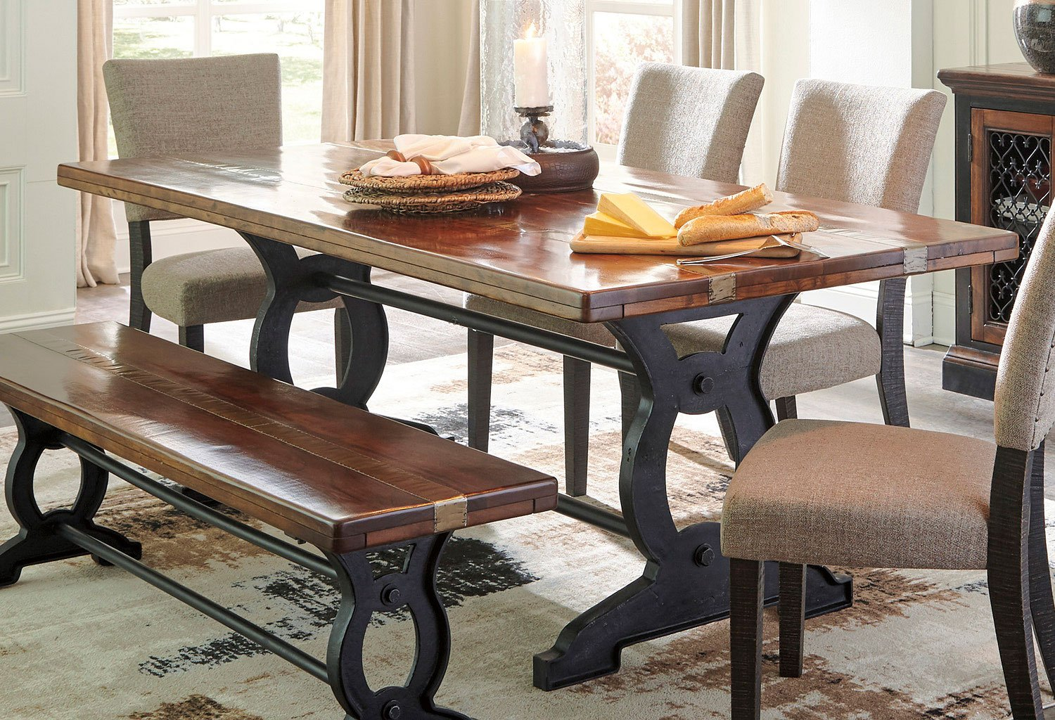 Zurani Dining Table By Signature Design By Ashley