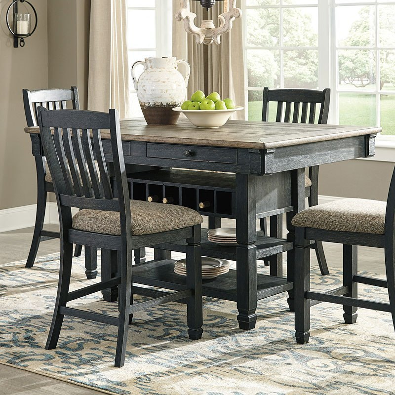 Tyler Creek Counter Dining Table By Signature Design Ashley Furniturepick