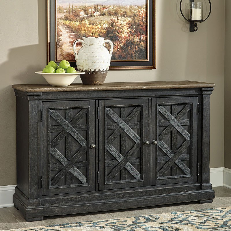Tyler Creek Server By Signature Design By Ashley