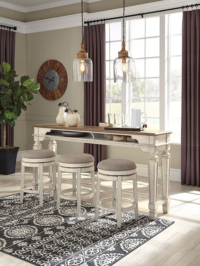 Realyn Counter Height Dining Set By Signature Design By