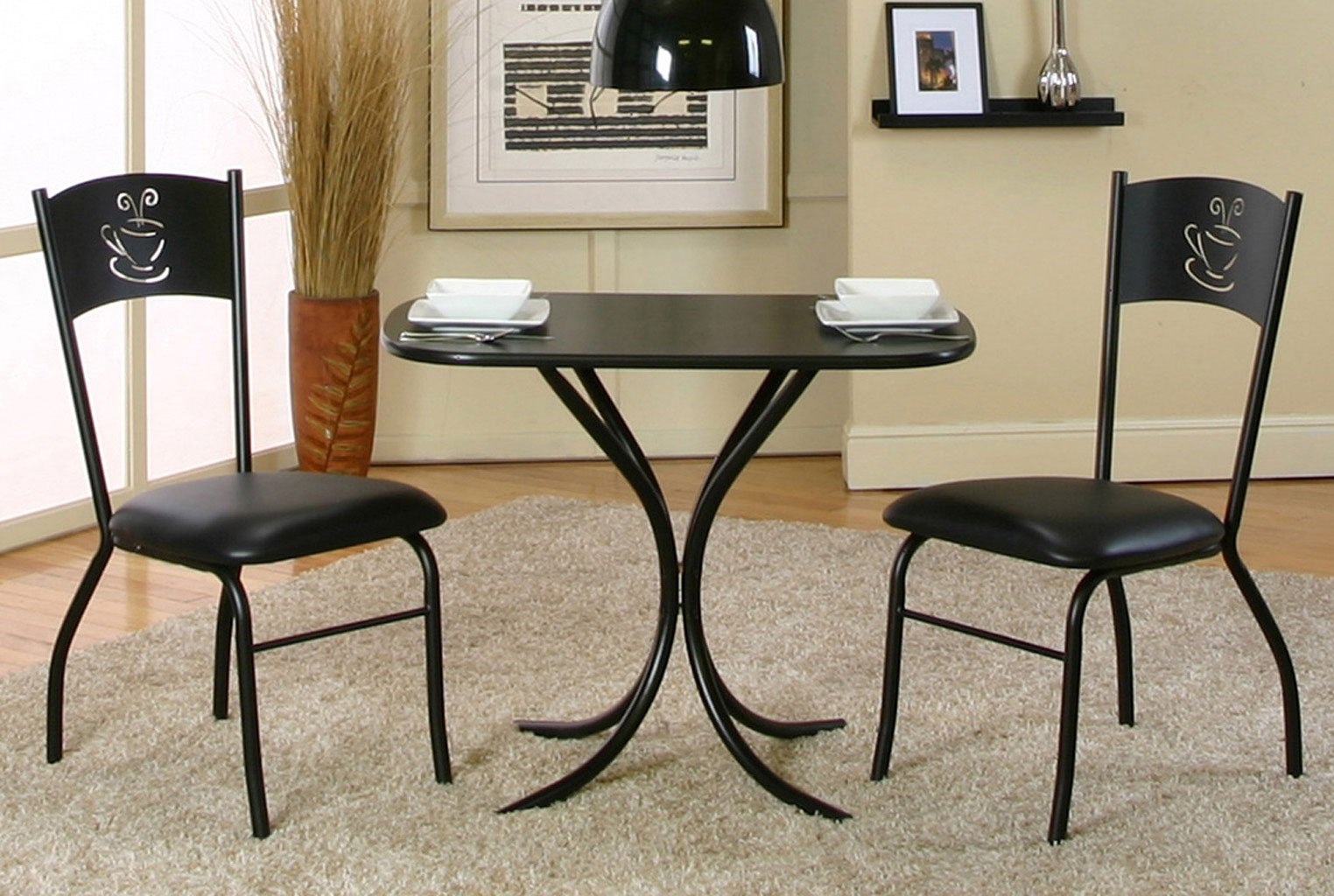 Cameo 3 piece dinette by cramco furniturepick