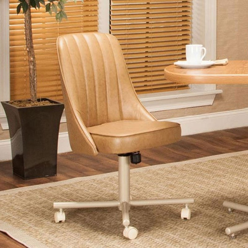Connie Armless Tilt Swivel Chair Set Of 2 Dining Room And