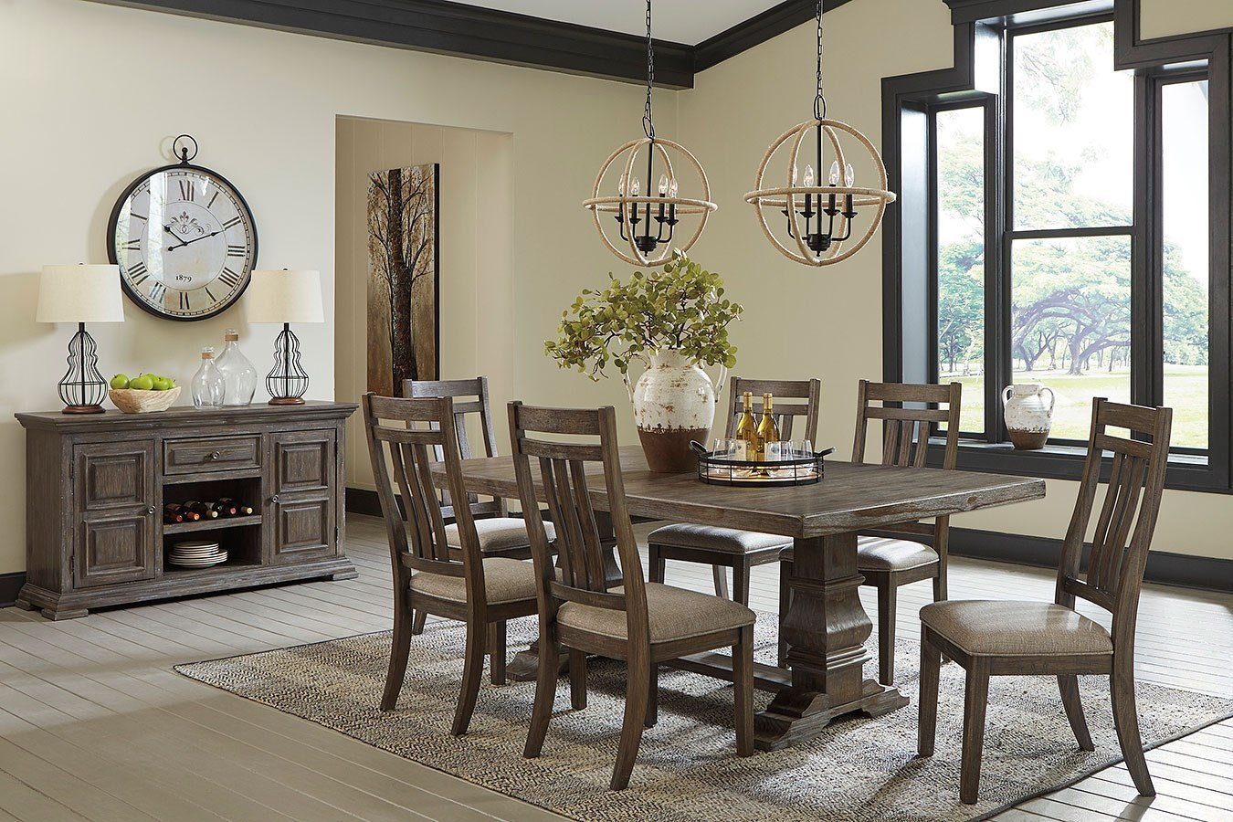 Dining Room Sets.Wyndahl Dining Room Set
