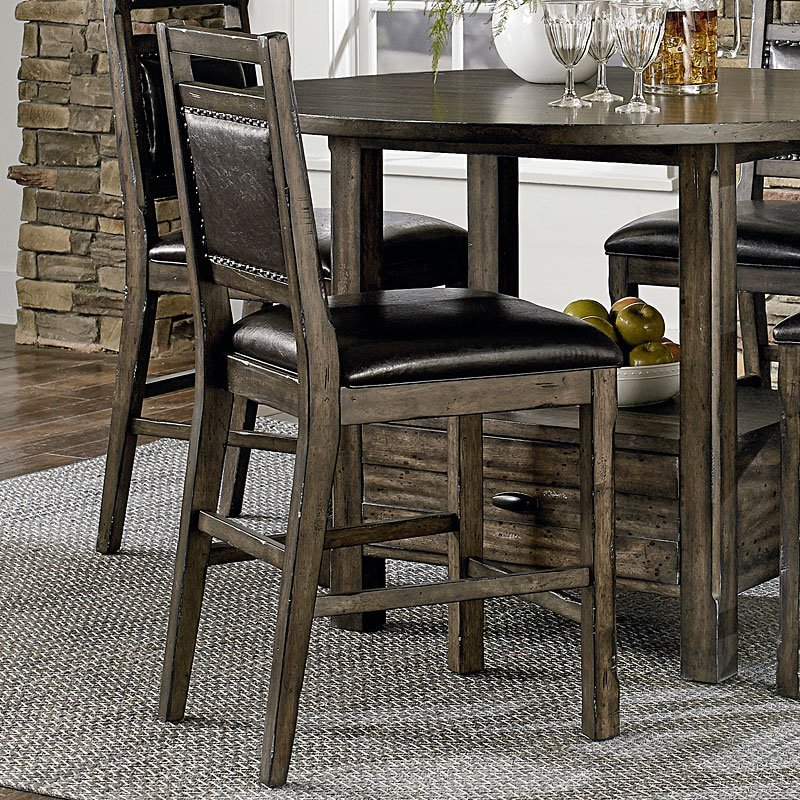 Crossroads Counter Height Chair Set Of 2 Counter Height Chairs Dining Room And Kitchen