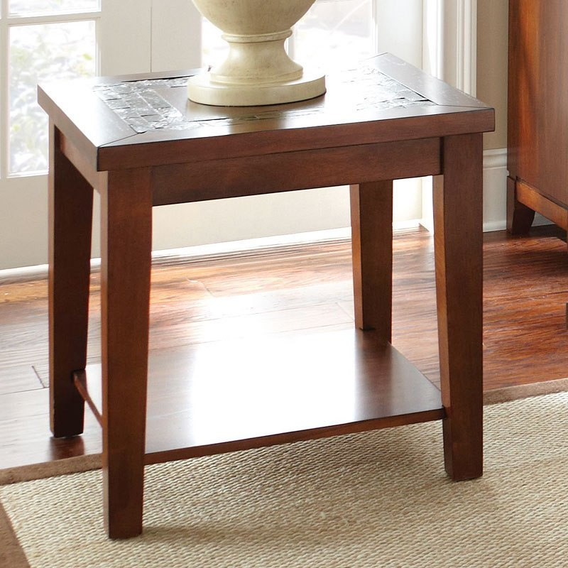 Davenport Slate End Table