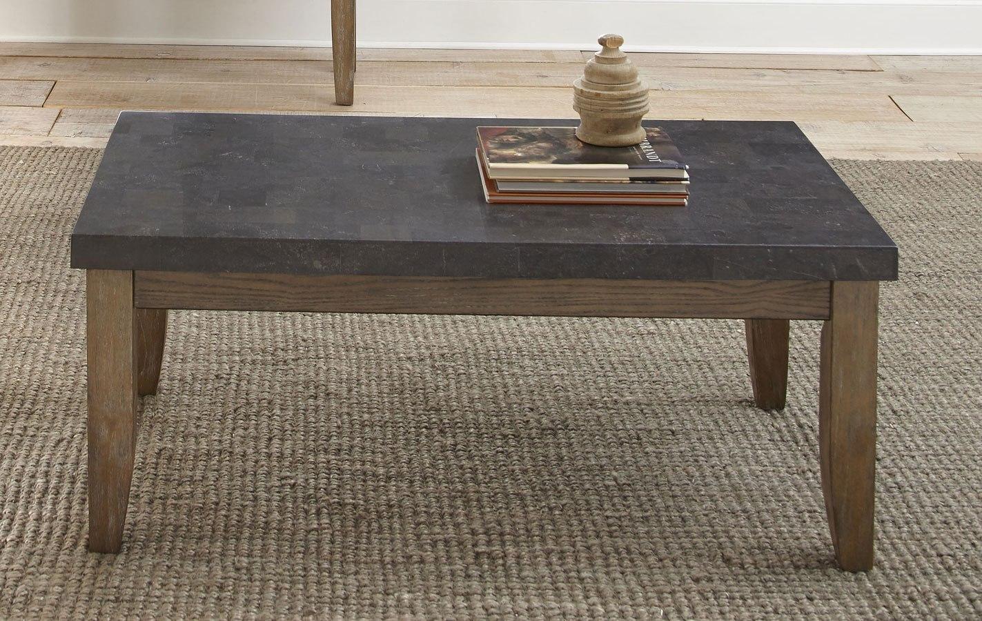 Debby bluestone cocktail table by steve silver furniture furniturepick