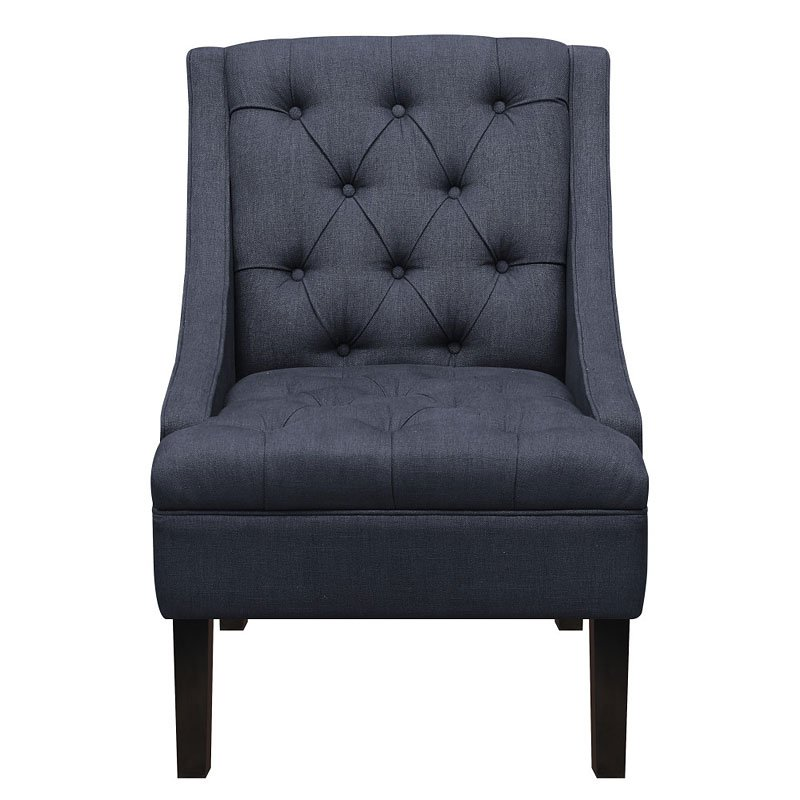 Vienna twilight upholstered arm chair accent chairs living room furniture living room for Upholstered living room chairs with arms