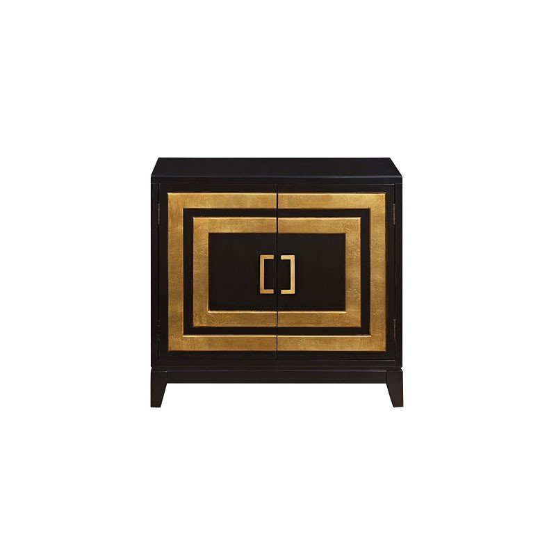 Modern Door Chest Black Accent Chests And Cabinets Occasional And Accent Furniture Living Room