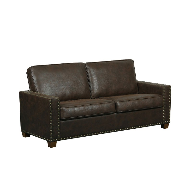 Leather Rustic Sofa Elements Fine Home Furnishings Paladia